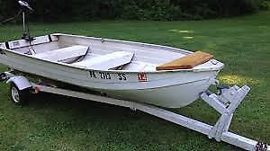 WANTED: 14 foot aluminum boat and trailer