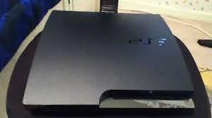 PS3 slim with 6 games