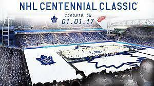 Leafs vs. Red Wings  -  Centennial Classic  -  January 1st.