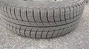 SET OF 4 BRAND NEW WINTER TIRES USED ONLY 1 WEEK 99%
