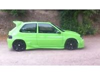 Citroen Saxo VTR - customised - breaking for parts - lots of custom parts available