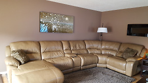 Sectional + Matching Recliner