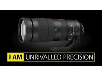 Nikon AF-S 200 - 500mm f5.6E ED VR lens , as new condition