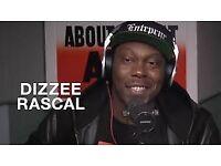 Dizziee Rascal Tickets x6 STANDING UEA Norwich Monday 9th October £50 EACH