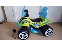 Chad valley 6v ride on quad. For toddlers. Collect only