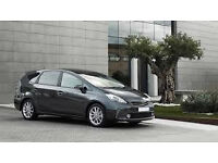 toyota prius plus ready for pco drivers + H I R E + U_B_E_R from £150