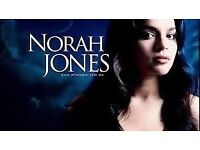 Norah Jones Ticket in Hand