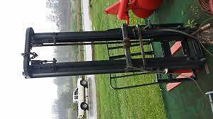 Tractor with Fork Lift Attachment Thagoona Ipswich City Preview