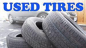 Used tires - various sizes