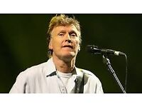 Steve Winwood tickets - 2 x Stalls Centre ROW E- Bridgewater Hall Manchester 2/7/18