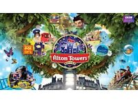 Alton Towers tickets x 2 before 21/10/2016