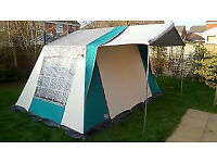 Cabanon Frame Tent for sale - 4 berth includes inner tent, good condition