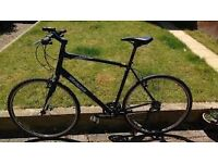 specialized sirrus hybrid bike 56cm frame shinano 24 speed good condition serviced recently