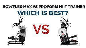 PROFORM HIIT  VS BOWFLEX HITT TRAINER ON SALE AND IN STOCK AT LONDONS #1 FITNESS STORE94 BESSEMER COURT