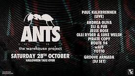 Paul Kalkbrenner - Halloween Warehouse Project Manchester