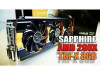 Sapphire R9 290x Tri-x OC version 8gb