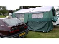conway excel trailer tent