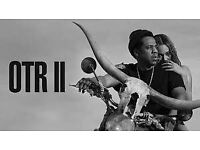 Jay z & Beyoncé - OTR ll @Manchester ETIHAD stadium 13/6/2018 GREAT SEATS LESS FACE VALUE PRICE!
