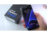 Samsung Galaxy S7 Edge BLACK BRAND NEW SEALED