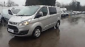 Ford Transit Custom 2.0TDCi Diesel 130PS 310 L1 SWB Trend Double Cab Van