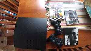 160gb PS3, 2 controllers and 3 games
