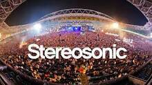 STEREOSONIC 2015 - MELBOURNE! 5TH DECEMBER - 1 x Ticket Springvale Greater Dandenong Preview