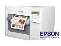 Label Printer Epson TM-C3500 Full colour printer