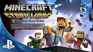 Minecraft Story Mode! Season pass included in disk!