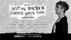 Justin Bieber ticket!! Belconnen Belconnen Area Preview