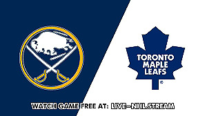2 Tix,  Buffalo Sabres at Maple Leafs, Sat. March 2, 2019