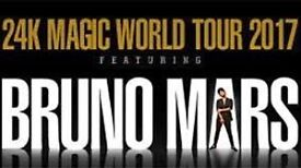 Pair of Bruno Mars tickets. O2 London Saturday. Great lower tier seats. Block 113