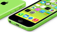 Mint Condition iPhone 5c (Bell)-Green-16GB=$270