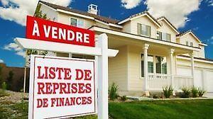 St-Rémi Reprise de finance. Liste gratuite