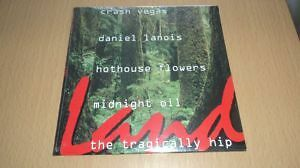 new unreleased daniel lanois tragicaly hip cd. limited quantity