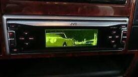 JVC kd lh811,animated display,cd-mp3 car receiver