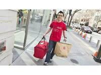 Delivery Driver pizza halal Takeaway shop