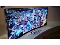 """Brand new 70"""" Samsung Curved 4k . ,need quick sale.selling it for £1400, price is negotiable"""
