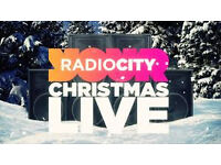 Two Radio City Christmas Live tickets - 2nd row in the centre block -Sat 17th Dec. Face Value only