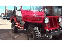 jeep wanted cj with v6 engine