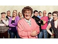 2x Good Mourning Mrs Brown Mrs Browns Boys Rhyl Tickets Thurs 23rd march stalls seats