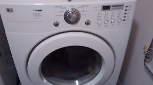 Front load washer and dryer. Lg Tromm