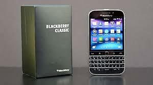 $200 Blackberry Classic 9/10 condition, locked to Bell/Virgin