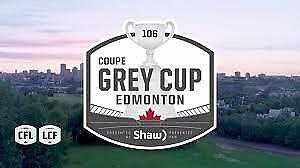 Grey Cup Game Sunday November 25th @ 4:00pm @ Commonwealth