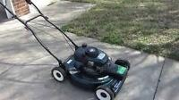 6 HP SEARS CRAFTSMAN SELFPROPELED LAWNMOWER ,