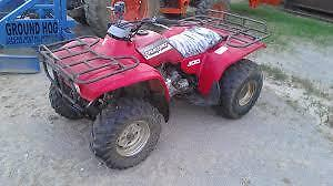 looking for a old atv that needs some work