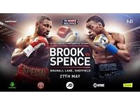 4 x Kell Brook Vs Errol Spence Tickets