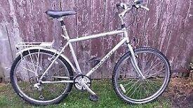 "gents touring Raflex bike inc extras rack 24"" frame 700 x wheels"