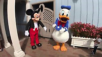 Mickey Mouse And Donald Duck --- Rent Us !