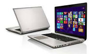 Toshiba P70-A 17 inch 256gb SSD laptop for sale.