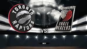 Raptors vs. Trail Blazers, February 2 - Lower Bowl